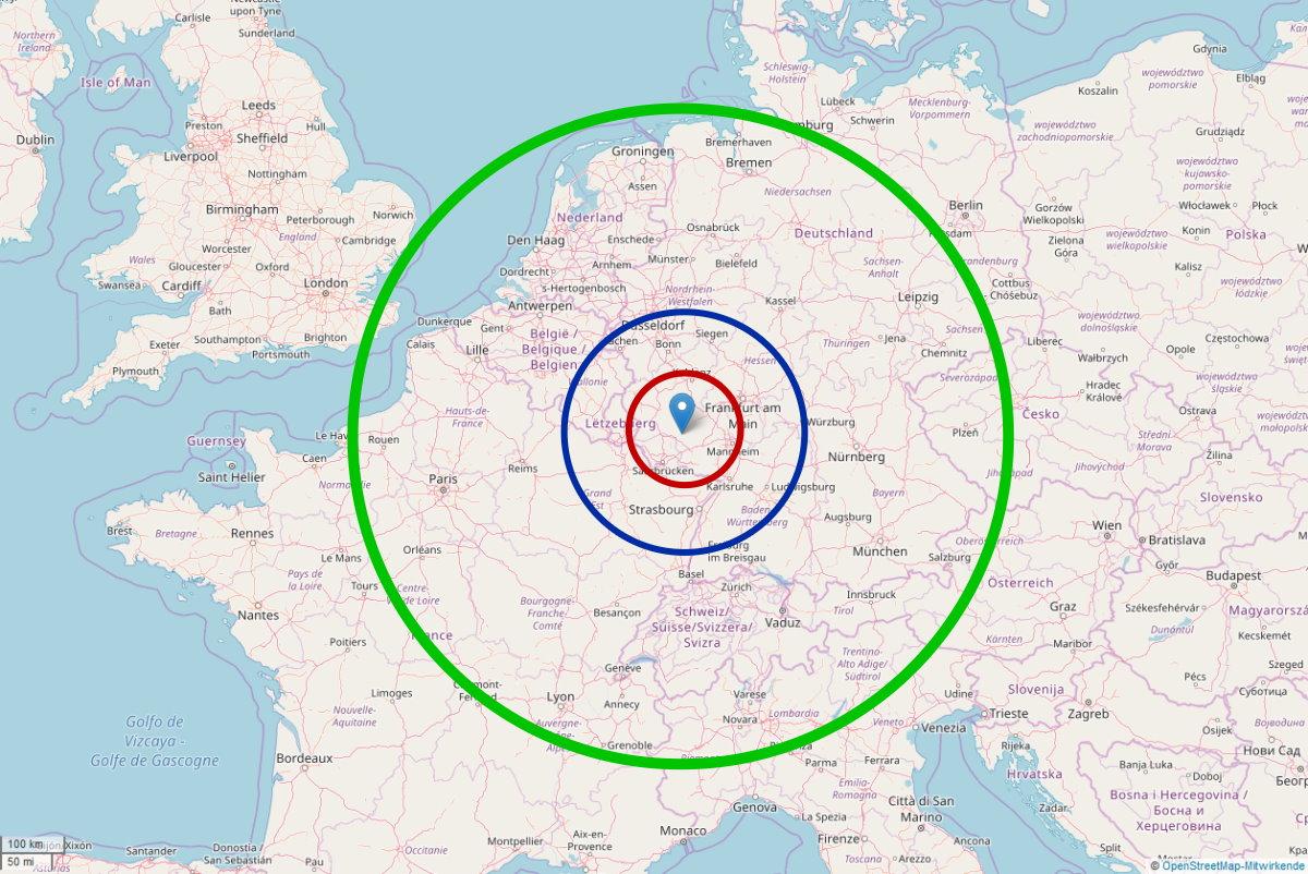 Frankfurt Bremen Entfernung