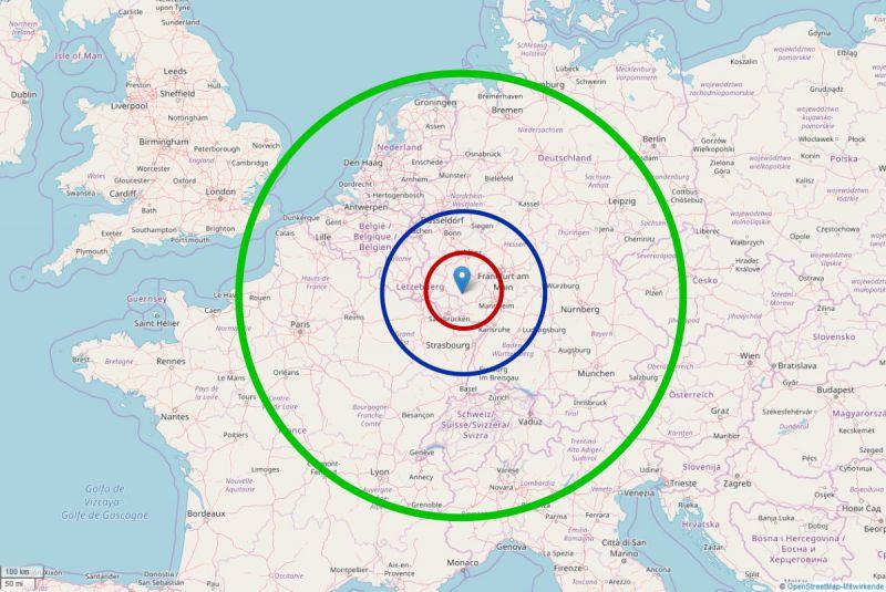 München Heidelberg Entfernung